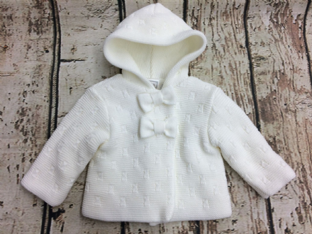 Hooded Pram Coat - Melody